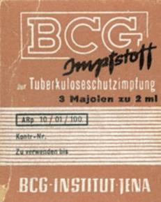 Bacille Calmette-Guérin (BCG)